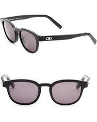 Ferragamo - 50mm Wayfarer Sunglasses - Lyst