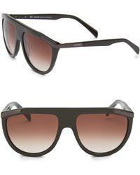 Balmain - 57mm Aviator Sunglasses - Lyst