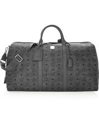 MCM - Traveller Weekender Logo Duffel Bag - Lyst