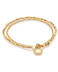 Astley Clarke - Biography White Sapphire Cosmos Beaded Friendship Bracelet - Lyst
