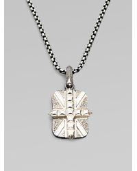 Stephen Webster - Cross Union Jack Necklace - Lyst