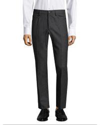 Incotex - Moss Panama Wool Trousers - Lyst