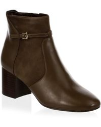 Cole Haan - Paulina Leather Booties - Lyst