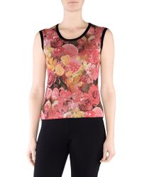 Stizzoli - Floral Shell Top - Lyst