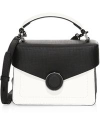 c3513304fc Botkier - Women s Nolita Two-tone Crossbody Bag - Black White - Lyst