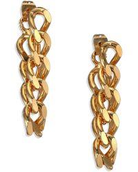 House of Lavande - Indah Chain Drop Earrings - Lyst