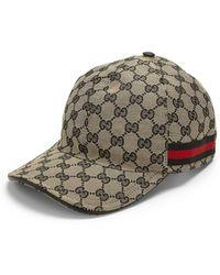 Gucci | Canvas Baseball Hat | Lyst