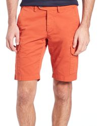 Saks Fifth Avenue - Collection Cargo Shorts - Lyst