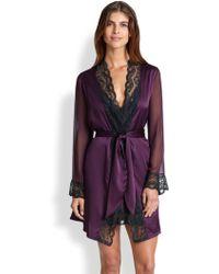 Myla - Isabella Short Robe - Lyst