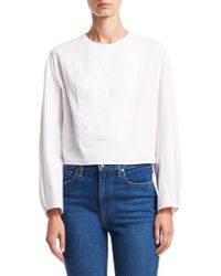 Khaite - Dorothy Cotton Blouse - Lyst