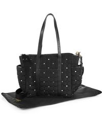 Rebecca Minkoff - Marissa Quilted & Studded Diaper Bag - Lyst
