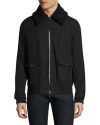 Twenty - Textured Cotton Jacket - Lyst