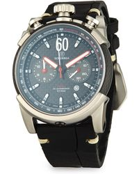 CT Scuderia - Fibra Di Carbonio Stainless Steel Leather Strap Analog Watch - Lyst