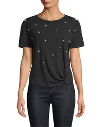 Generation Love - Ava Pearls Cotton Pima Tee - Lyst