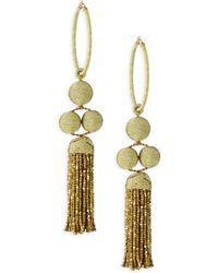 Rebecca de Ravenel - Cha Cha Tassel Earrings - Lyst