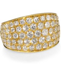 Anita Ko - 18k Gold & Diamond Galaxy Ear Cuff - Lyst