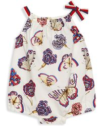 Gucci - Baby Girl's Sleeveless Butterfly Bodysuit - Lyst