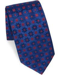 Charvet - Silk Edelweiss-print Tie - Lyst