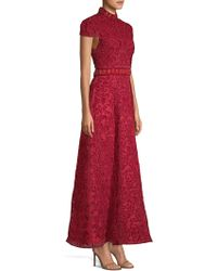 Alice + Olivia - Nidia Embellished Gown - Lyst