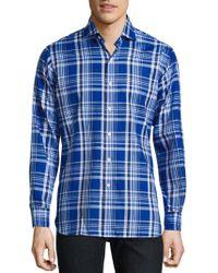 Polo Ralph Lauren - Plaid Oxford Button-down Shirt - Lyst