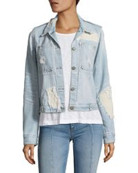 Mcguire - The Dolly Distressed Denim Jacket - Lyst