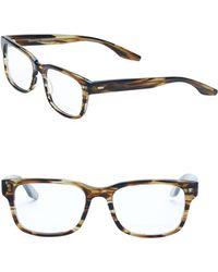 Barton Perreira - Huncke Sulcata Tortoise 52mm Optical Glasses - Lyst