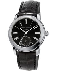 Frederique Constant - Classics Manufacture Automatic-self-wind 5atm Stainless Steel Watch - Lyst