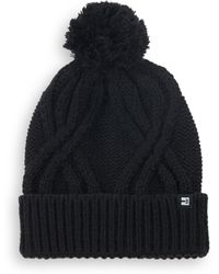 Block Headwear | Cableknit Cotton Beanie | Lyst
