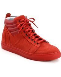 Del Toro - Suede Boxing Trainers - Lyst