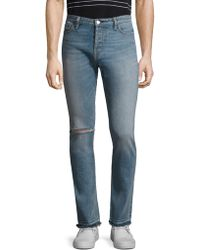Ovadia And Sons - Slim-fit Distressed Jeans - Lyst