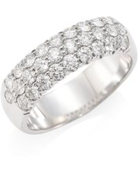 Hearts On Fire - Diamond & 18k White Gold Ring - Lyst