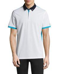 AG Green Label - Deuce Short-sleeve Polo - Lyst