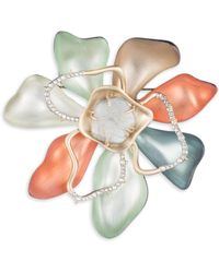 Alexis Bittar - Roxbury Muse Abstract Colorblock Flower Pin - Lyst