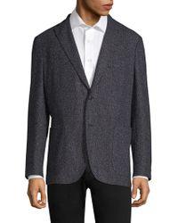 Boglioli - Regular Fit Donegal Tweed Blazer - Lyst