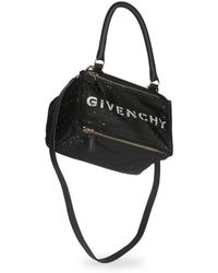 Givenchy - Pandora Small Crossbody Bag In Speckled Nylon - Lyst