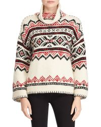 Polo Ralph Lauren - Fair Isle Funnelneck Sweater - Lyst