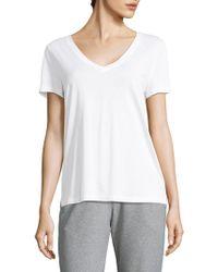 Hanro - Sleep And Lounge Short Sleeve Knit Top - Lyst