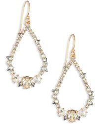 Alexis Bittar - Spiked Crystal Teardrop Earrings - Lyst
