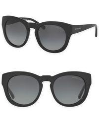 Michael Kors - Summer Breeze 50mm Round Sunglasses - Lyst