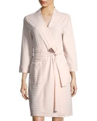Saks Fifth Avenue - Collection Stripe Terry Robe - Lyst
