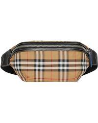 c634788bbc54 Lyst - Burberry Men s Sonny Check Crossbody Belt Bag fanny Pack in ...