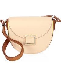 Jason Wu - Jaime Colorblock Leather Saddle Bag - Lyst
