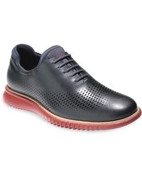 Cole Haan   2.zerogrand Laser Wing Leather Oxfords   Lyst