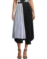 Delfi Collective | Eliza Irridescent Pleated Skirt | Lyst