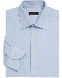 Ike Behar - Contemporary-fit Stripe Dress Shirt - Lyst