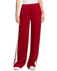 Elizabeth and James - Kelly Crepe Track Trousers - Lyst