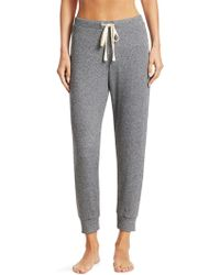 Saks Fifth Avenue - Collection Lacie Rib-knit Joggers - Lyst