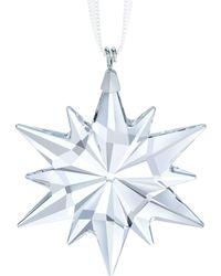 Swarovski - Star Crystal Ornament - Lyst