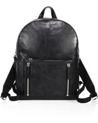 Uri Minkoff - Distressed Leather Bondi Backpack - Lyst