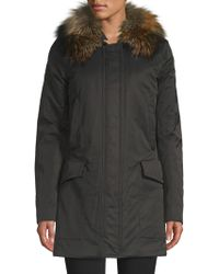 Post Card - Barwa Fur-trim Parka Jacket - Lyst